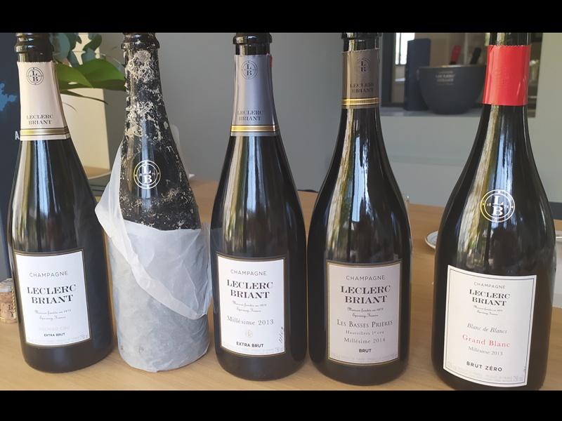 Champagne Leclerc Briant **